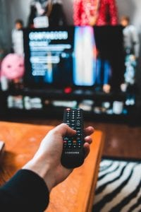 COVID health decline watching tv
