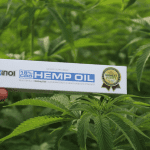 CBD oil and hemp plant