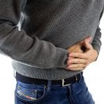 abdominal pain sign of food intolerance