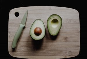 Avocado, example of anti-inflammatory healthy fats