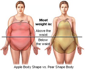 apple vs pear body shape