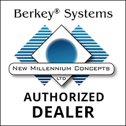 Berkey Water authorized dealer badge