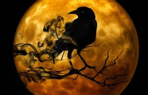 spooky Halloween image